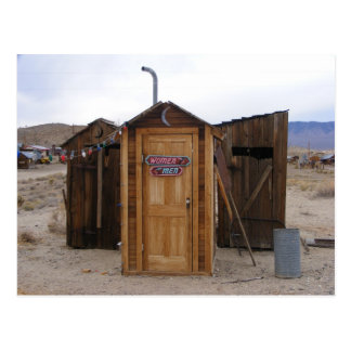 Gold Point Outhouse Postcard