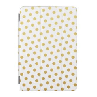 Gold Polka Dot Pattern iPad Mini Case iPad Mini Cover