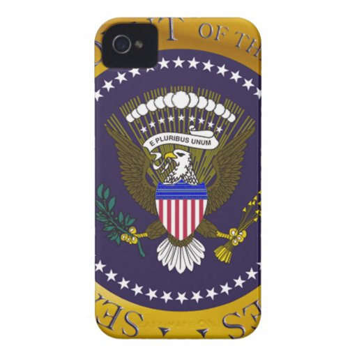 Gold Presidential Seal Case-Mate iPhone 4 Cases