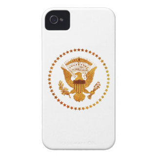Gold Presidential Seal Case-Mate iPhone 4 Case