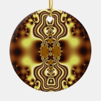 Gold Pride Round Ornament