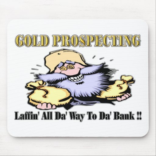 Gold Prospecting Mouse Pad