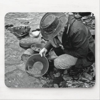 Gold Prospector Mouse Mats