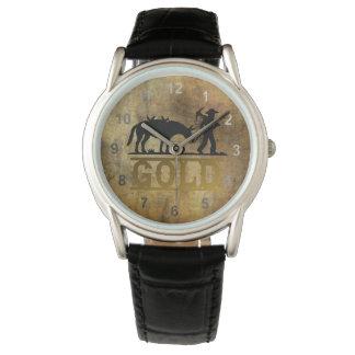 Gold Prospector. Wristwatch