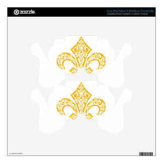 GOLD PS3 CONTROLLER SKINS
