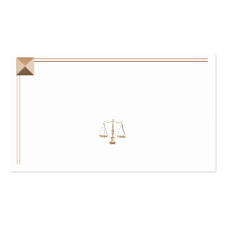 Gold Pyramid Legal Business Card