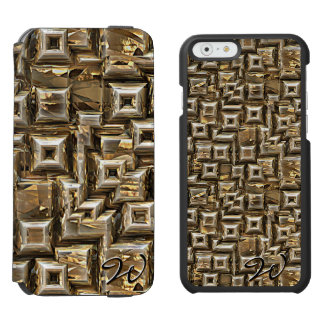 Gold Pyramids 1 iPhone 6/6s Wallet Case