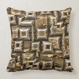 Gold Pyramids 1 Pillows