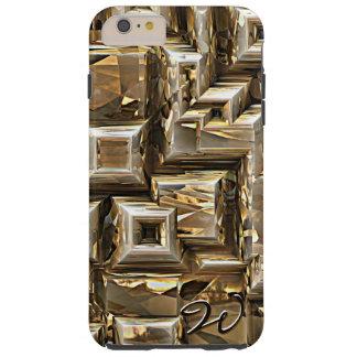 Gold Pyramids 1 Tough iPhone 6 Plus Case