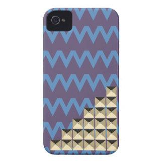 Gold pyramids studs VOL5 iPhone 4 Cover