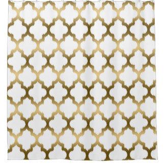 Purple ikat shower curtain - Geometric Pattern Shower Curtains Zazzle