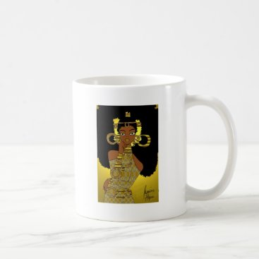 jasmineflynn Gold Queen Coffee Mug