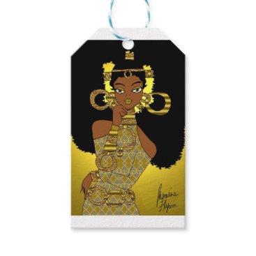 jasmineflynn Gold Queen Gift Tags