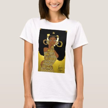 jasmineflynn Gold Queen T-Shirt