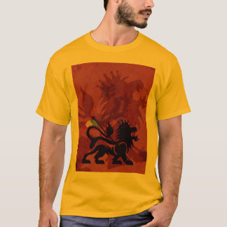 Gold Ras Lion Tee