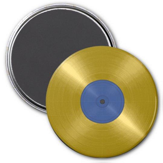 Gold Record Album Magnet