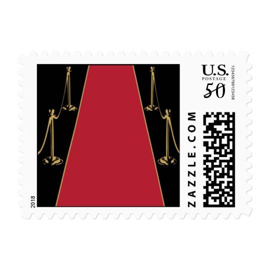 Gold Red Carpet Postage
