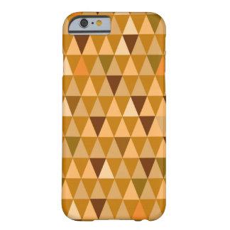 Gold Retro Geometric Pattern iPhone 6 Case