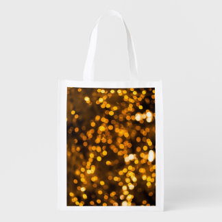 Gold! Reusable Grocery Bags
