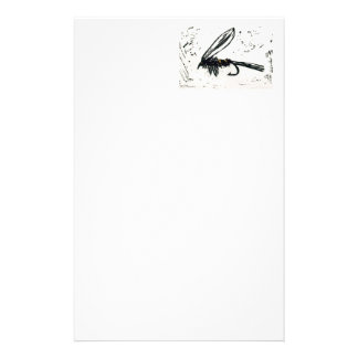 """""""Gold Ribbed Hare's Ear Wet"""" Wet Fly Stationery"""