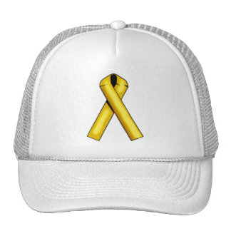 Gold Ribbon on Products Trucker Hat