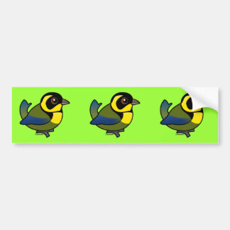Gold-ringed Tanager Bumper Sticker