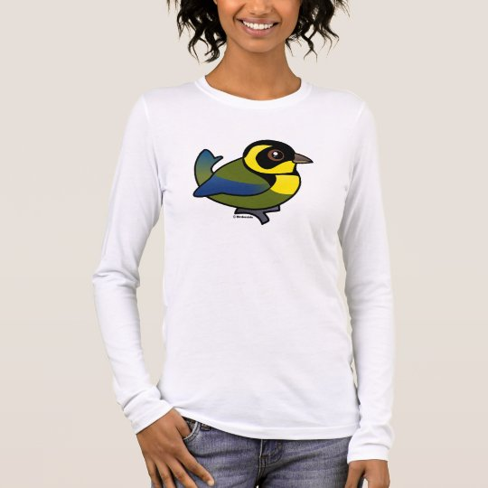 Gold-ringed Tanager Long Sleeve T-Shirt