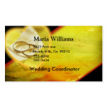 Gold Rings Glow Set Double-Sided Standard Business Cards (Pack Of 100)