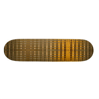 gold ripples custom skate board