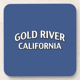 Gold River California Drink Coaster