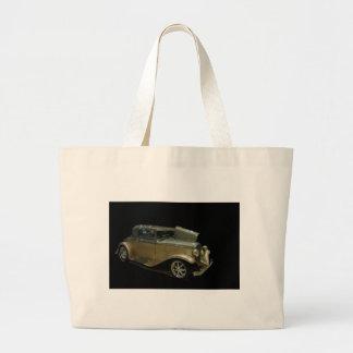 Gold roadster jumbo tote bag