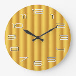 Gold rolls simplicity wall clocks
