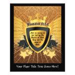 "Gold Romans 8:14, Sons of God 4.5"" X 5.6"" Flyer"