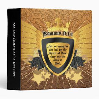 Gold Romans 8:14, Sons of God Binder