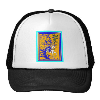 Gold & Royal Blue Classic Unicorn by Sharles Hats