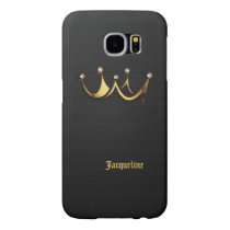 Gold Royal Queen Crown Samsung Galaxy S6 Case