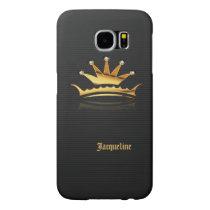 Gold Royal Queen Crown Samsung Galaxy S6 Case