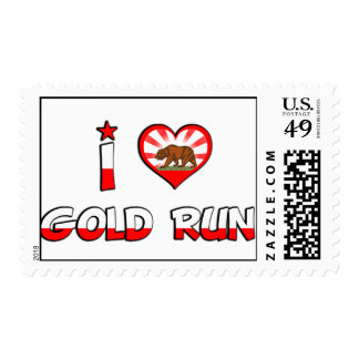 Gold Run, CA Postage Stamp