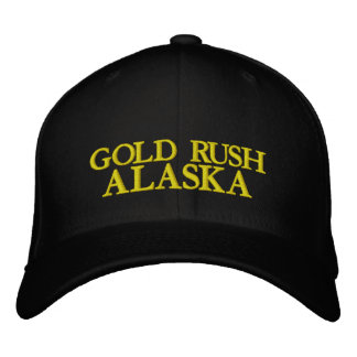 GOLD RUSH, ALASKA CAP