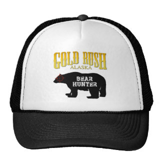Gold Rush Bear Hunter Trucker Hat