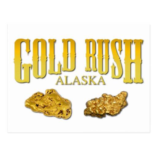 Gold Rush Postcard
