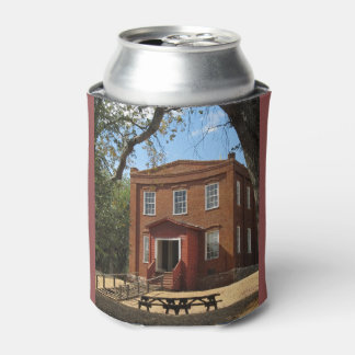 Gold Rush Town School House Can Cooler
