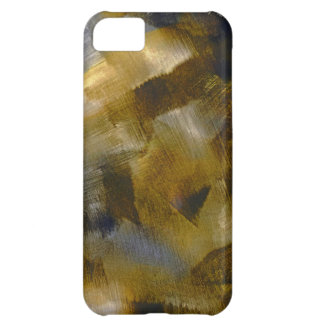 Gold Rust Abstract Case For iPhone 5C