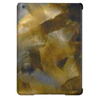 Gold Rust Abstract Cover For iPad Air