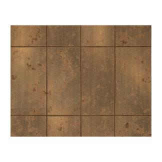 Gold Rust Cork Fabric