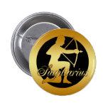 GOLD SAGITTARIUS ZODIAC SIGN PINS