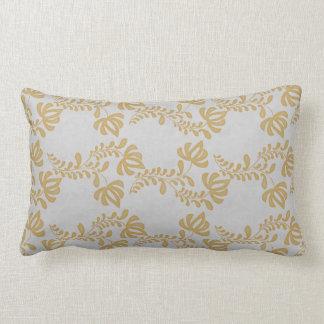 Gold Salt Tulip Lumbar Pillow