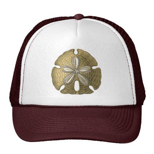 Gold Sand Dollar Trucker Hat
