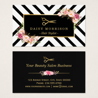 Hair Salon Business Cards Templates Zazzle - Hair salon business card template