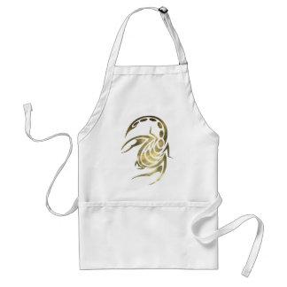 Gold Scorpio Scorpion Apron